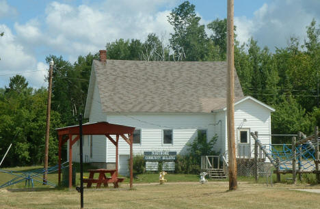 Northome Community Building, Northome Minnesota, 2006