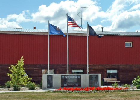 Veterans Memorial, Northome Minnesota, 2006