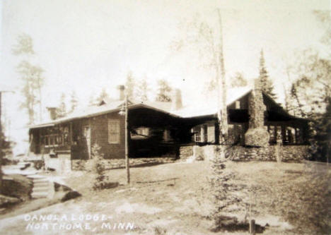 Danola Lodge, Northome Minnesota, 1920's