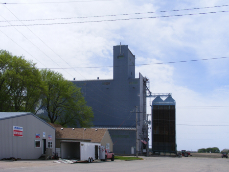 Grain elevators, Northrop Minnesota, 2014