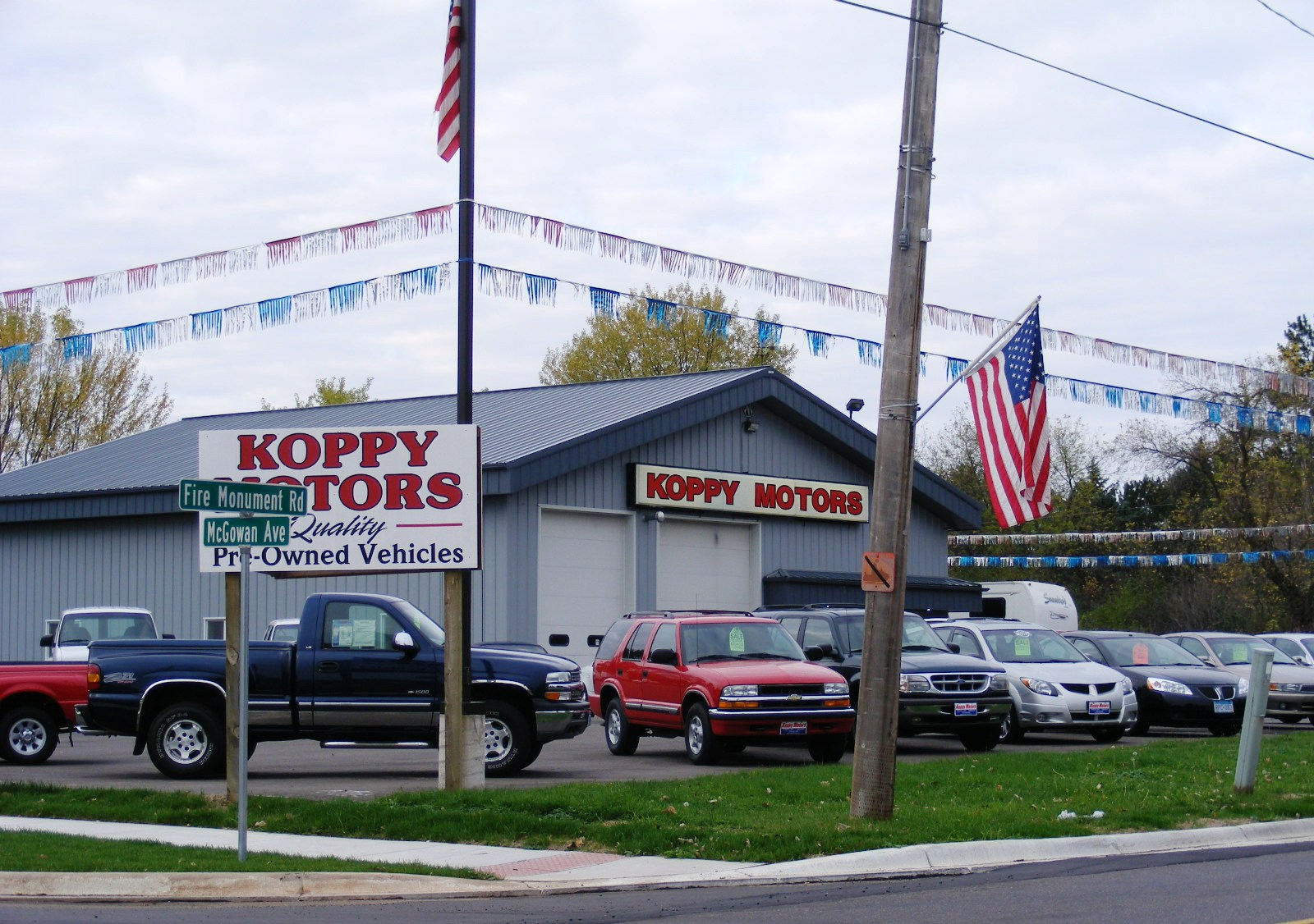 Guide to hinckley minnesota for Koppy motors of hinckley