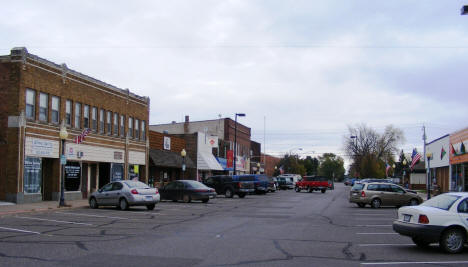 View of Downtown Hinckley Minnesota, 2007