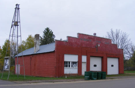 Old Fire Barn in McGrath Minnesota, 2007
