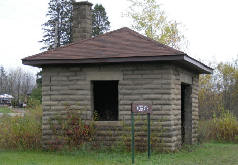 Old Soo Line Railroad building along the Soo Line Trail in McGrath Minnesota, 2007