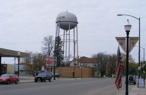 Aitkin Minnesota Water Tower, 2007