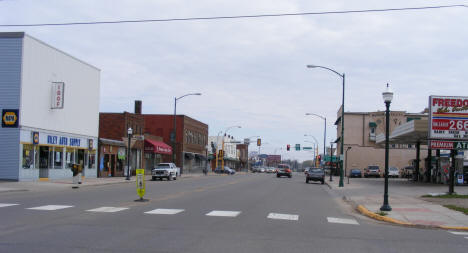 View of 2nd Street NW, Aitkin Minnesota, 2007