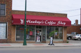 Hawkeye's Coffee Shop, Aitkin Minnesota