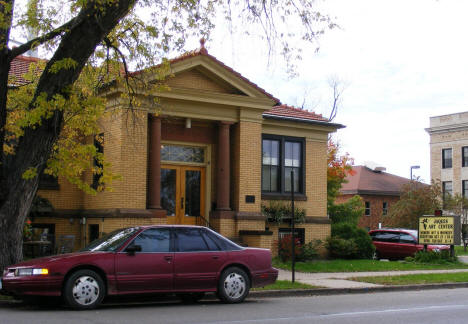 Jaques Art Center (former Carnegie Library) in Aitkin Minnesota, 2007