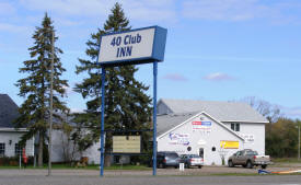 40 Club Inn, Aitkin Minnesota