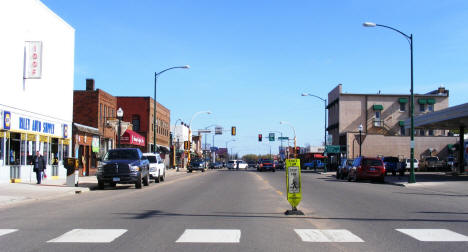 Street view, 2nd Street NW, Aitkin Minnesota, 2007