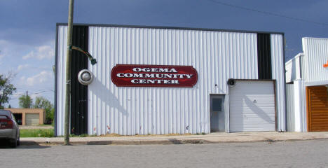 Ogema Community Center, Ogema Minnesota, 2008