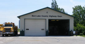 Red Lake County Garage, Oklee Minnesota