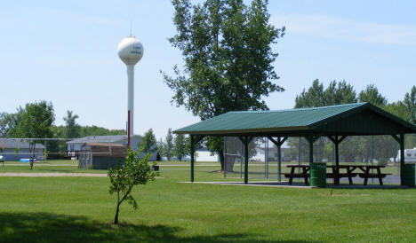 City Park and Water Tower, Oklee Minnesota, 2008