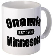 Onamia Established 1901 Mug