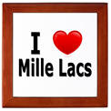 I Love Mille Lacs Keepsake Box