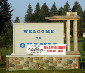Welcome to Onamia Minnesota!