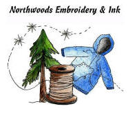 Northwoods Embroidery and Ink, Orr Minnesota