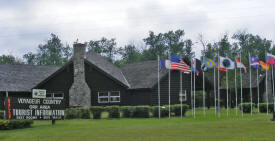 Orr Tourist Information Center, Orr Minnesota