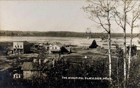 General view, Orr Minnesota, 1920's?