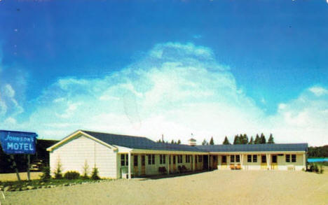 Johnson's Motel, Orr Minnesota, 1956