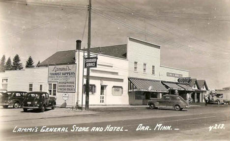 Lammi's General Store and Hotel, Orr Minnesota, 1940's
