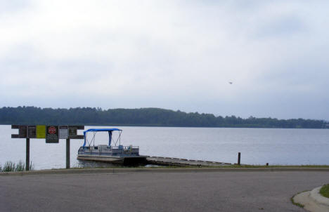 Boat Launch on Pelican Lake, Orr Minnesota, 2007