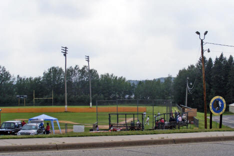 Orr Braves Baseball Field, Orr Minnesota, 2007