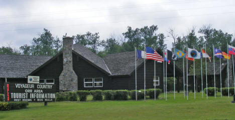 Tourist Information Center, Orr Minnesota, 2007