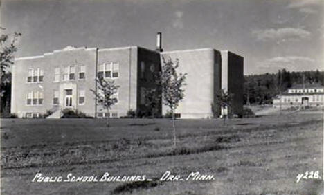 Public School Buildings, Orr Minnesota, 1950's