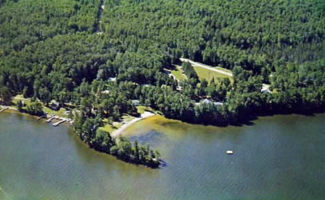 Birch Forest Lodge on Pelican Lake, Orr Minnesota, 1969