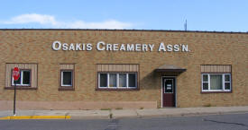 Osakis Creamery Association, Osakis Minnesota