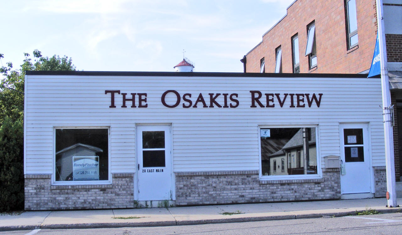 osakis men Osakis, minn — a former general manager of the osakis creamery association  who was accused of taking money from the business will.
