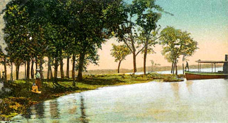 Coon Point, Lake Osakis, Osakis Minnesota, 1906