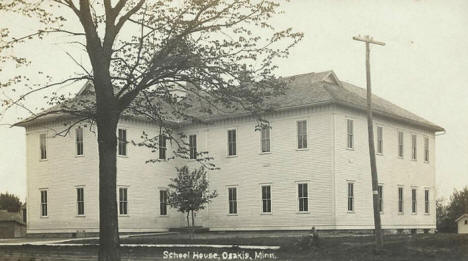 School House, Osakis Minnesota, 1900's