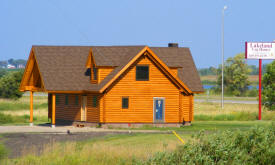 Lakeland Log Homes, Osakis Minnesota