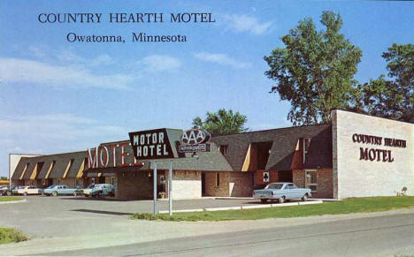 Country Hearth Motel, Owatonna Minnesota, 1960's