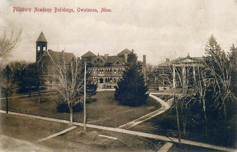 Pillsbury Academy Buildings, Owatonna Minnesota, 1910's