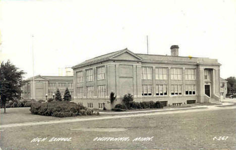 High School, Owatonna Minnesota, 1949