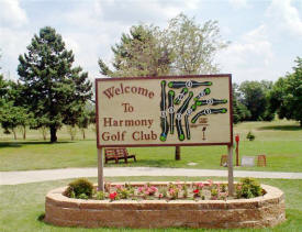 Harmony Golf Club, Harmony Minnesota