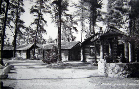 Harbordale Log Cabins, Park Rapids Minnesota, 1930's