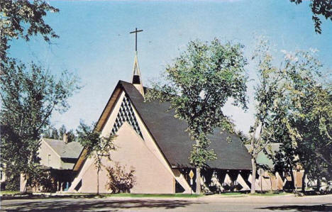 Calvary Lutheran Church, Park Rapids Minnesota, 1960's