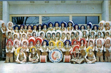 Official Chippewa Band, Park Rapids Minnesota, 1960's