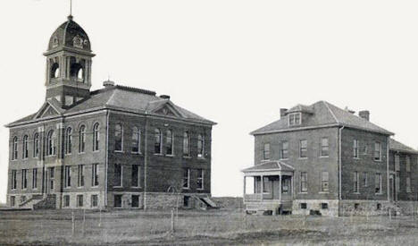 Court House and Jail, Park Rapids Minnesota, 1907