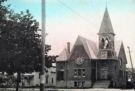 Baptist Church, Park Rapids Minnesota, 1913