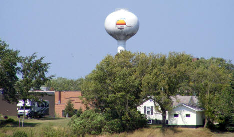 Water Tower, Parkers Prairie Minnesota, 2008