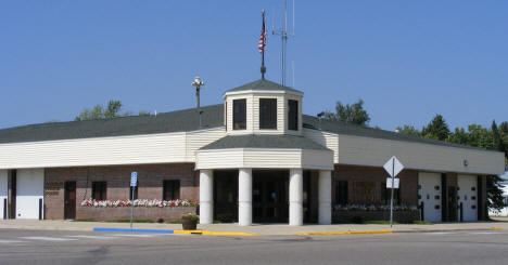 City Hall and Police Station, Parkers Prairie Minnesota, 2008