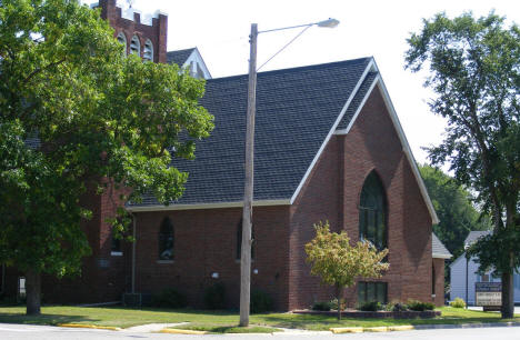 First Evangelical Lutheran Church, Parkers Prairie Minnesota, 2008