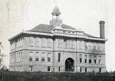 Public School, Parkers Prairie Minnesota, 1908