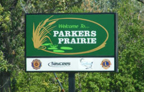 Welcome to Parkers Prairie Minnesota