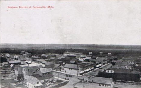 Business District, Paynesville Minnesota, 1910's